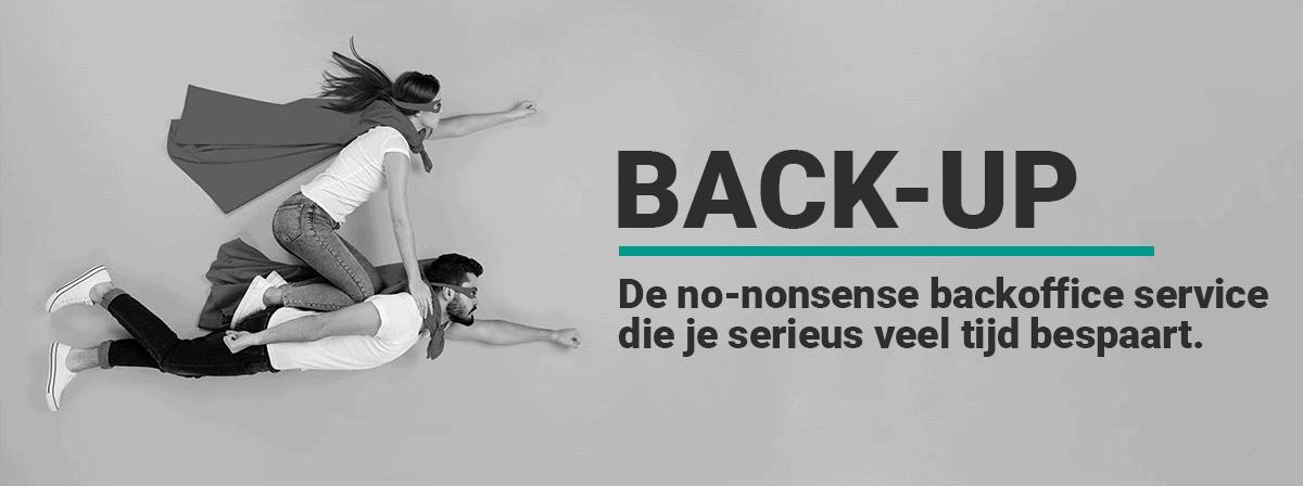 Back Up banner