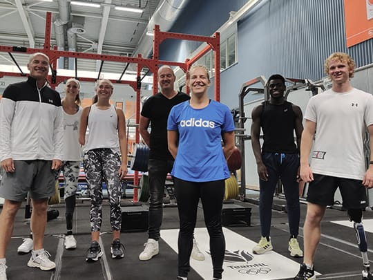 Proud partner | Team Para Atletiek
